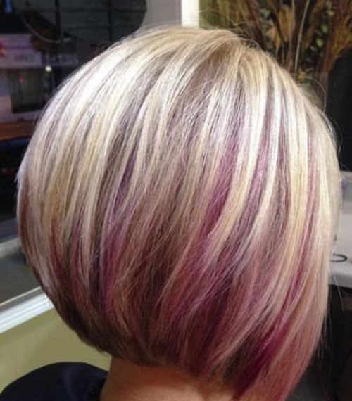 Purple And Blonde Hair Color