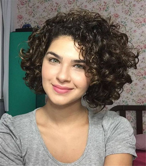 Haircuts For Curly Hair Women