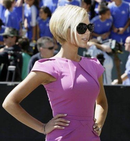Victoria Beckham New Haircut