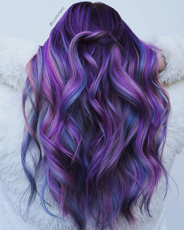 Purple Hair Pictures