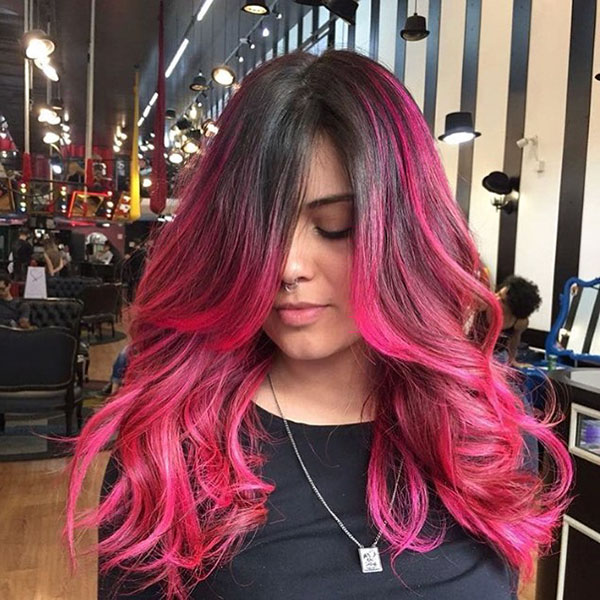 Pink Hair Pictures