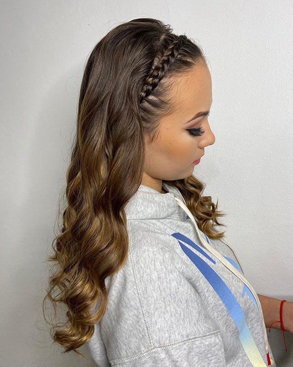 Nice Hairstyles For Prom