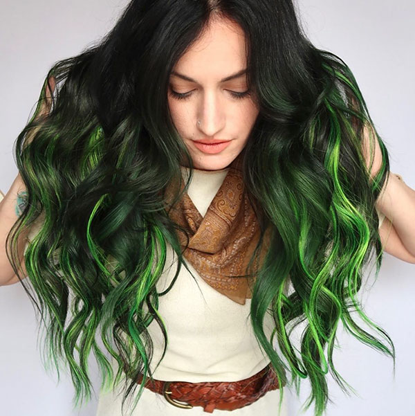 Unique Ombre Hair
