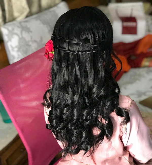Hairstyles For Marrige Party