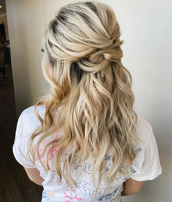 Images Of Bridesmaid Hairstyles
