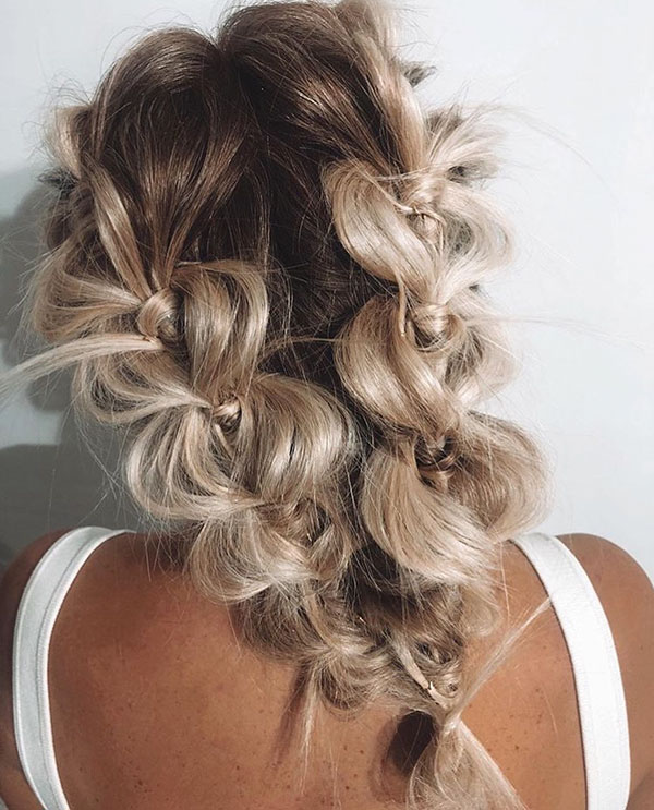 Latest Hairstyles For Wedding Party