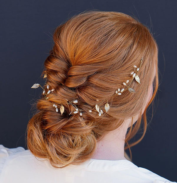 Unique Updo Hairstyles