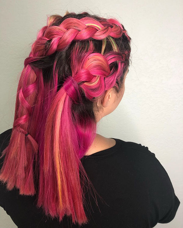 Pictures Of Pink Hair