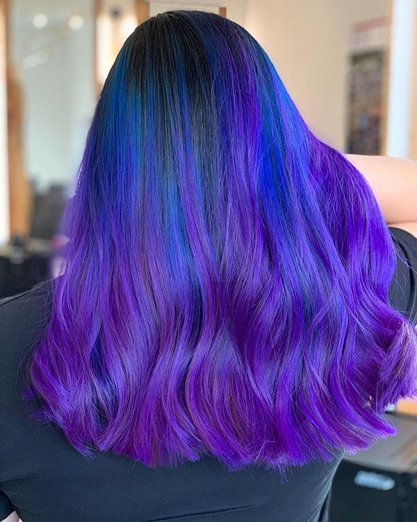 Purple Hair Color 2020