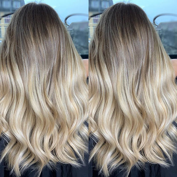 Beautiful Ombre Hair Color