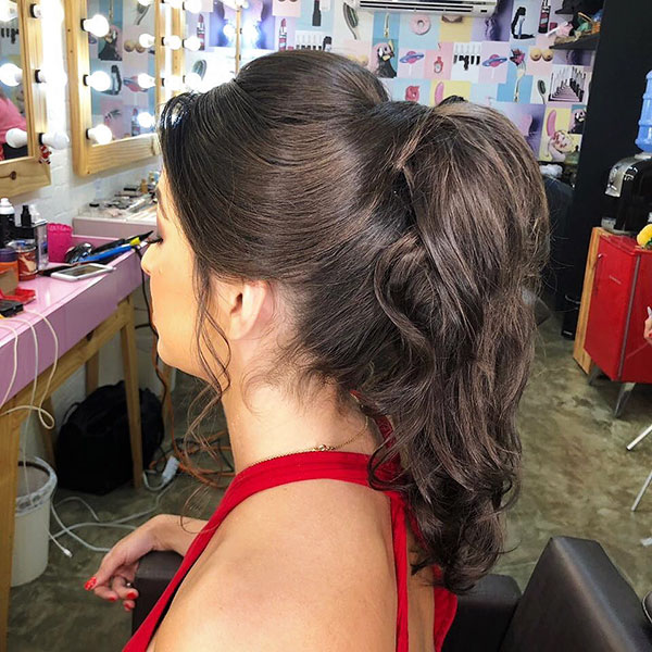 20 Inspiration Low Bun Hairstyles For Wedding 2019 2020: 25+ Crazy Party Hairstyles That'll Amaze You