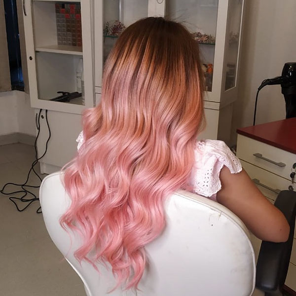 Pink In Hair