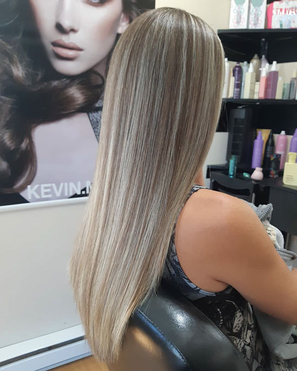 Ash Blonde Hair