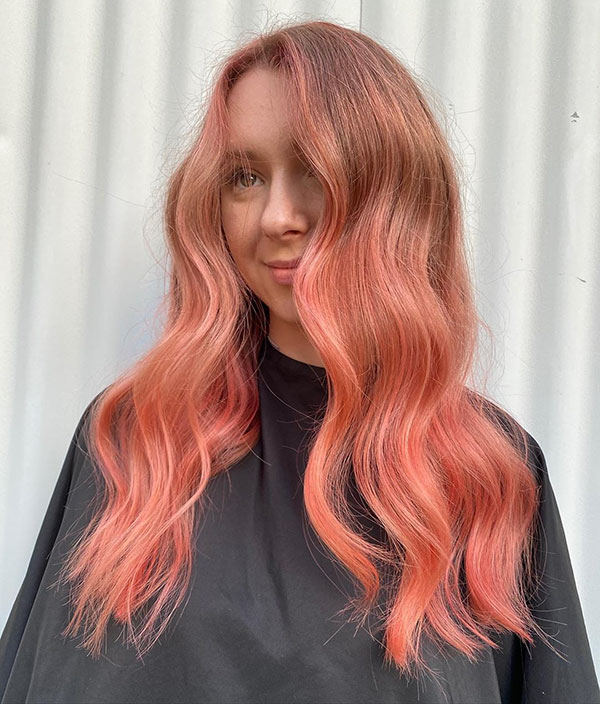 Hot Pink Hair Color