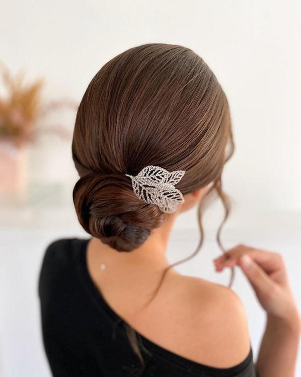Elegant Bun Hair