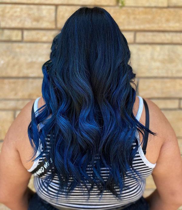 Hot Blue Hair