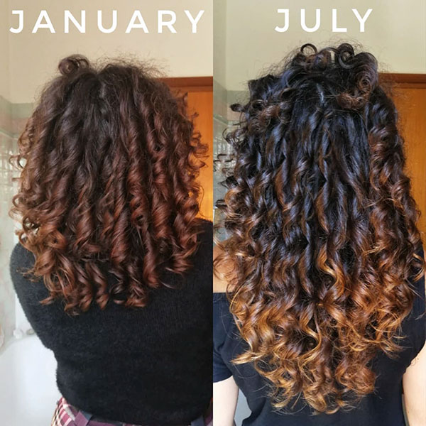 Curly Hair For Girls