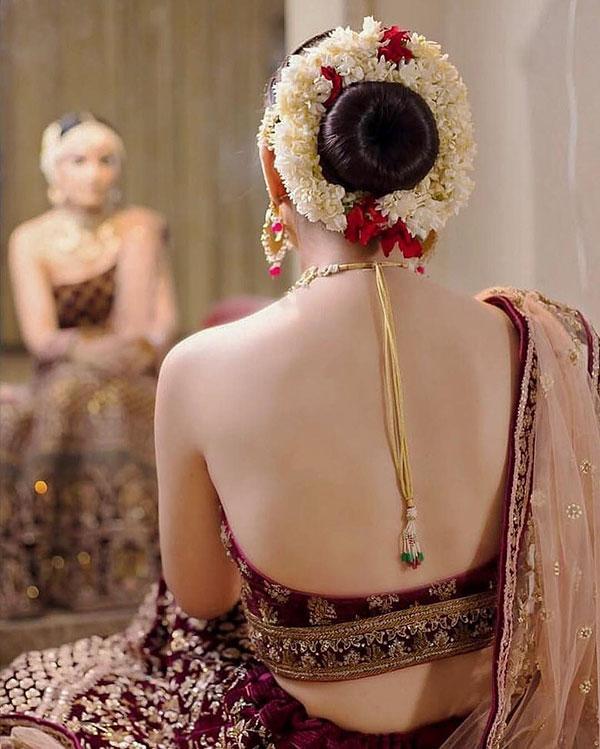 Indian Bun Hairstyles