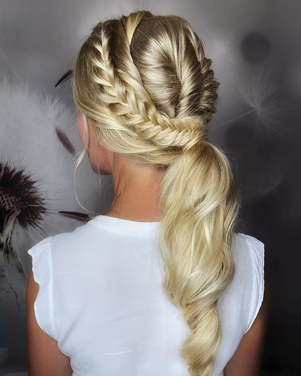 Ponytail Hairstyle Images