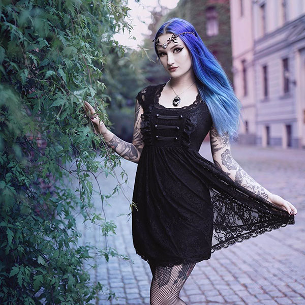 Pictures Of Blue Hair