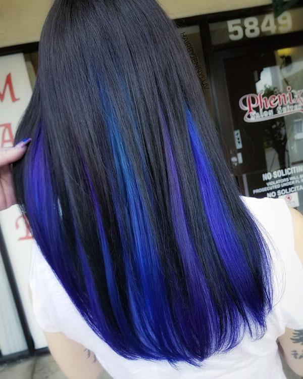 Blue Hair Ideas
