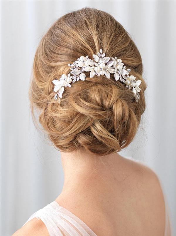 Bun Hairstyles For Wedding