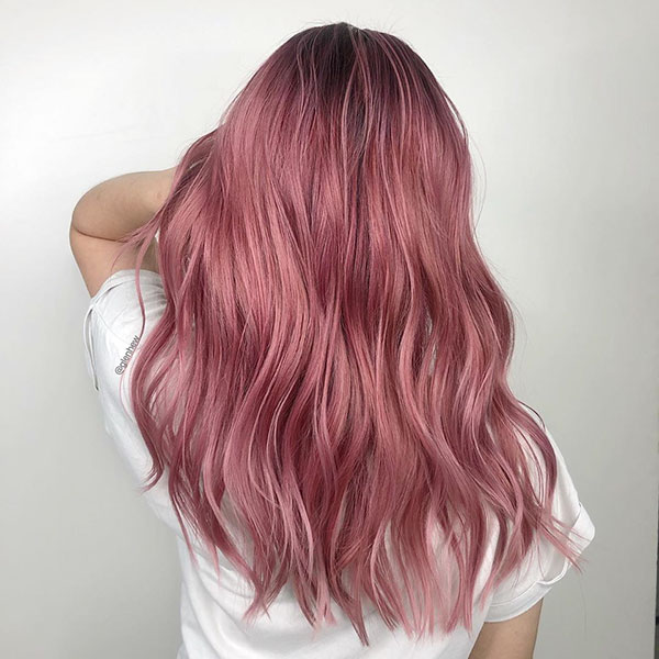 Pink Hair Images