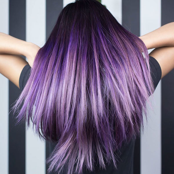 Images Of Purple Hair Color