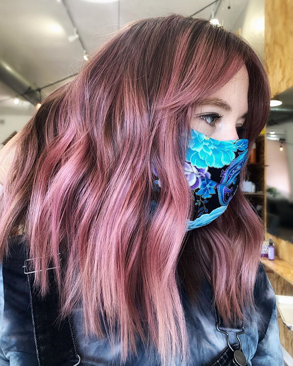 Cool Pink Hair