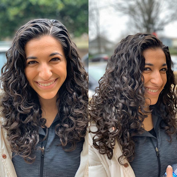 Hairstyles For Girls With Curly Hair