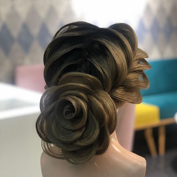 Bun Hairstyle Pictures