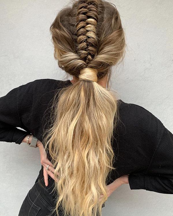 Nice Ponytail Hairstyles