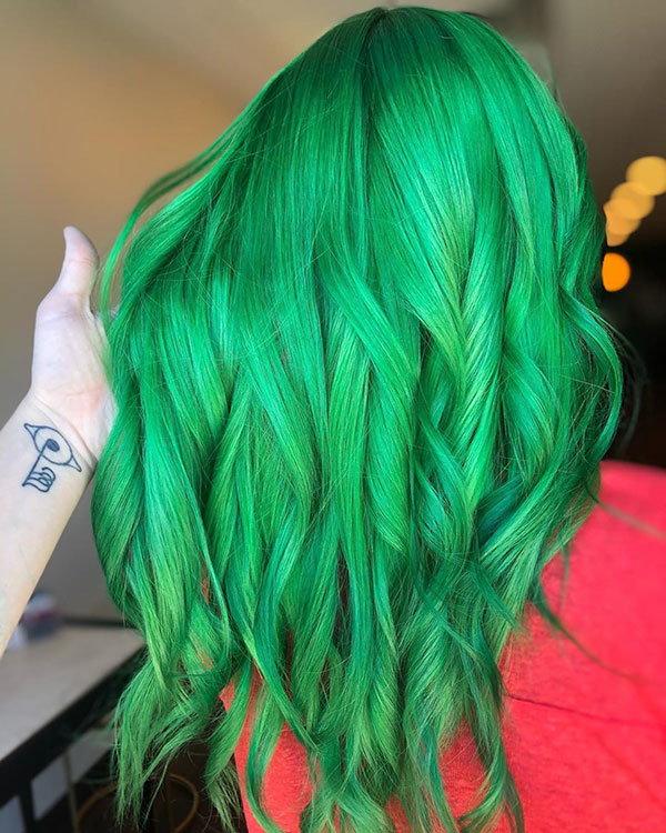 Best Hairstyles For Green Hair