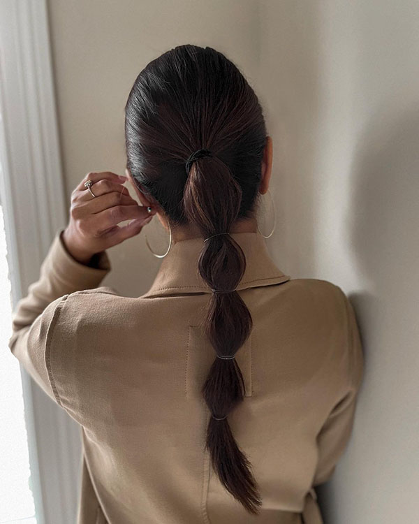 Ponytail Hair Examples