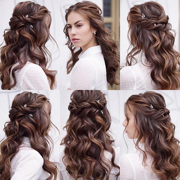 Half Up Styles In Hair