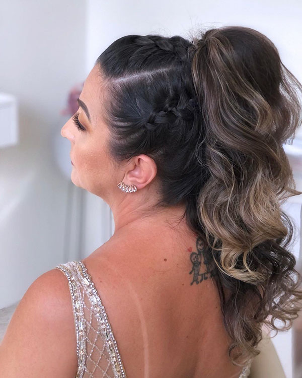 Different Ponytail Styles