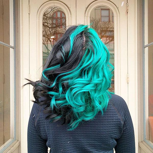 Haircuts For Green Hair