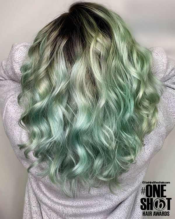 Hairstyles For Green Hair
