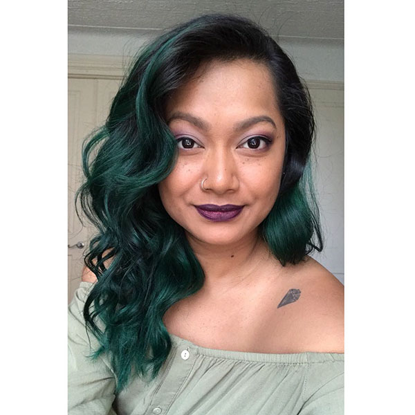 Green Hairstyles