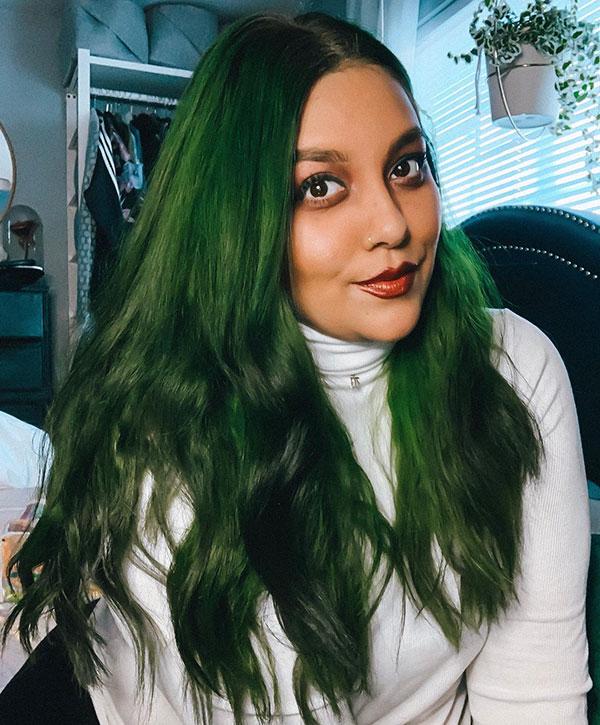 Green Hair Color