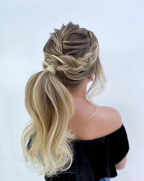 Ponytail Hairdos