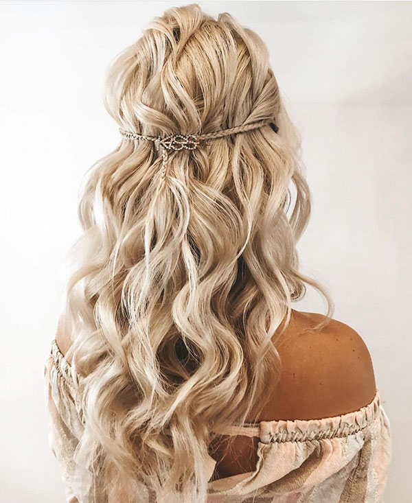 Images Of Half Up Hairstyles