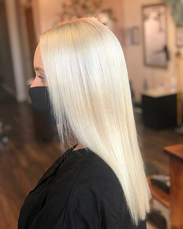 Hot Blonde Hair