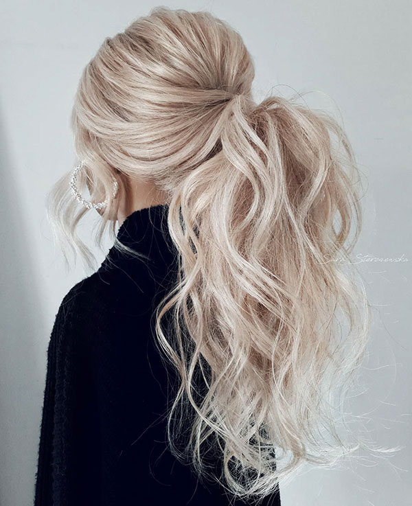 Pictures Of Ponytail Hairstyles